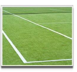 image of TENNIS COURT produced from Grass Seed mixture